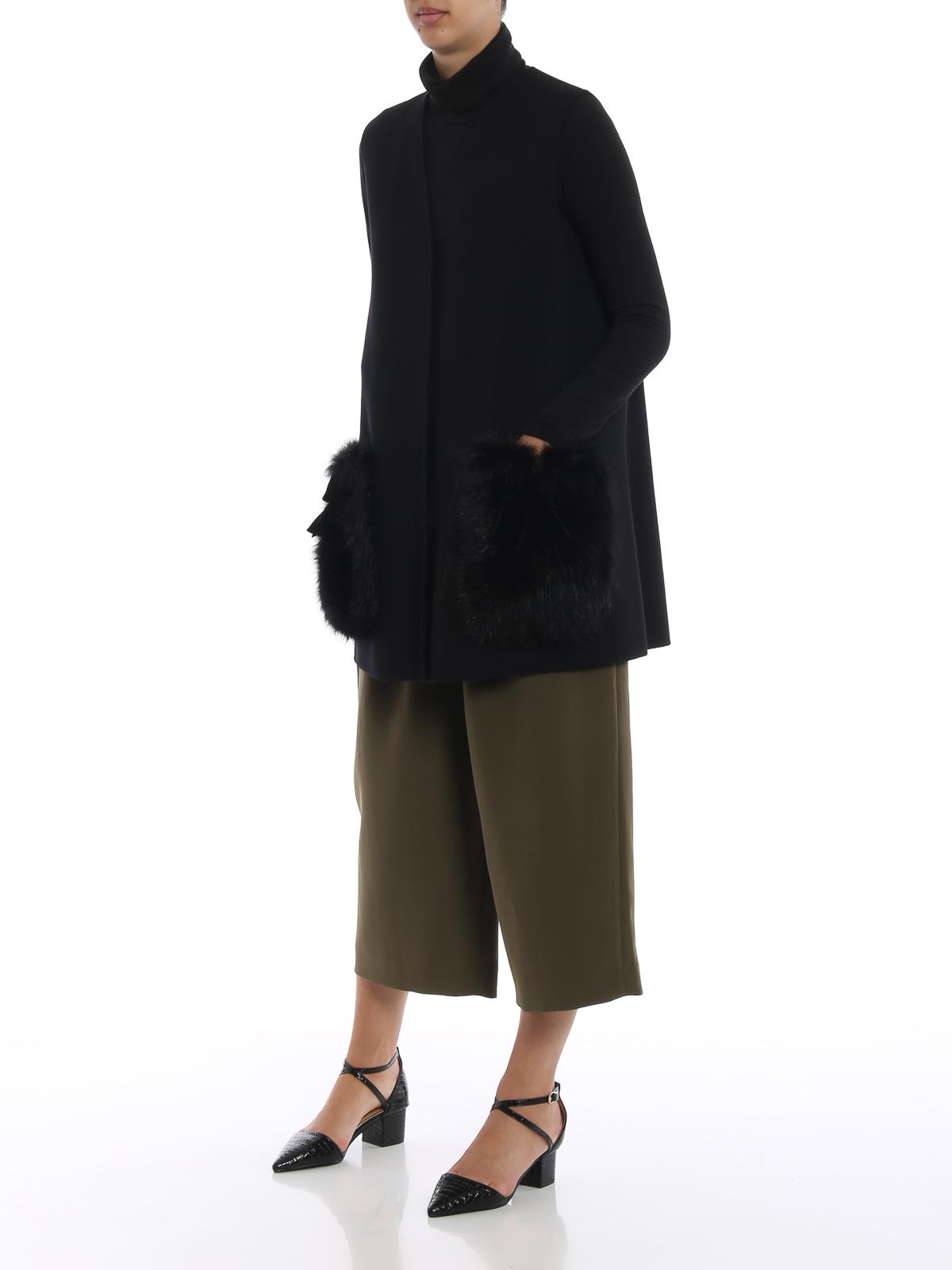 courts unie manteau court couleur Fendi Ff8523 manteaux W1d XPkiOZu
