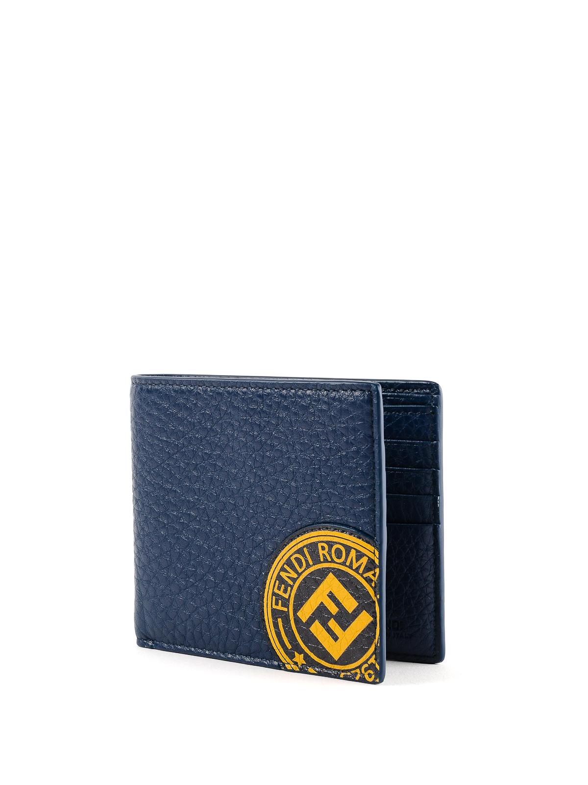 b0b518dc Fendi - Fendi Roma grainy leather billfold wallet - wallets & purses ...