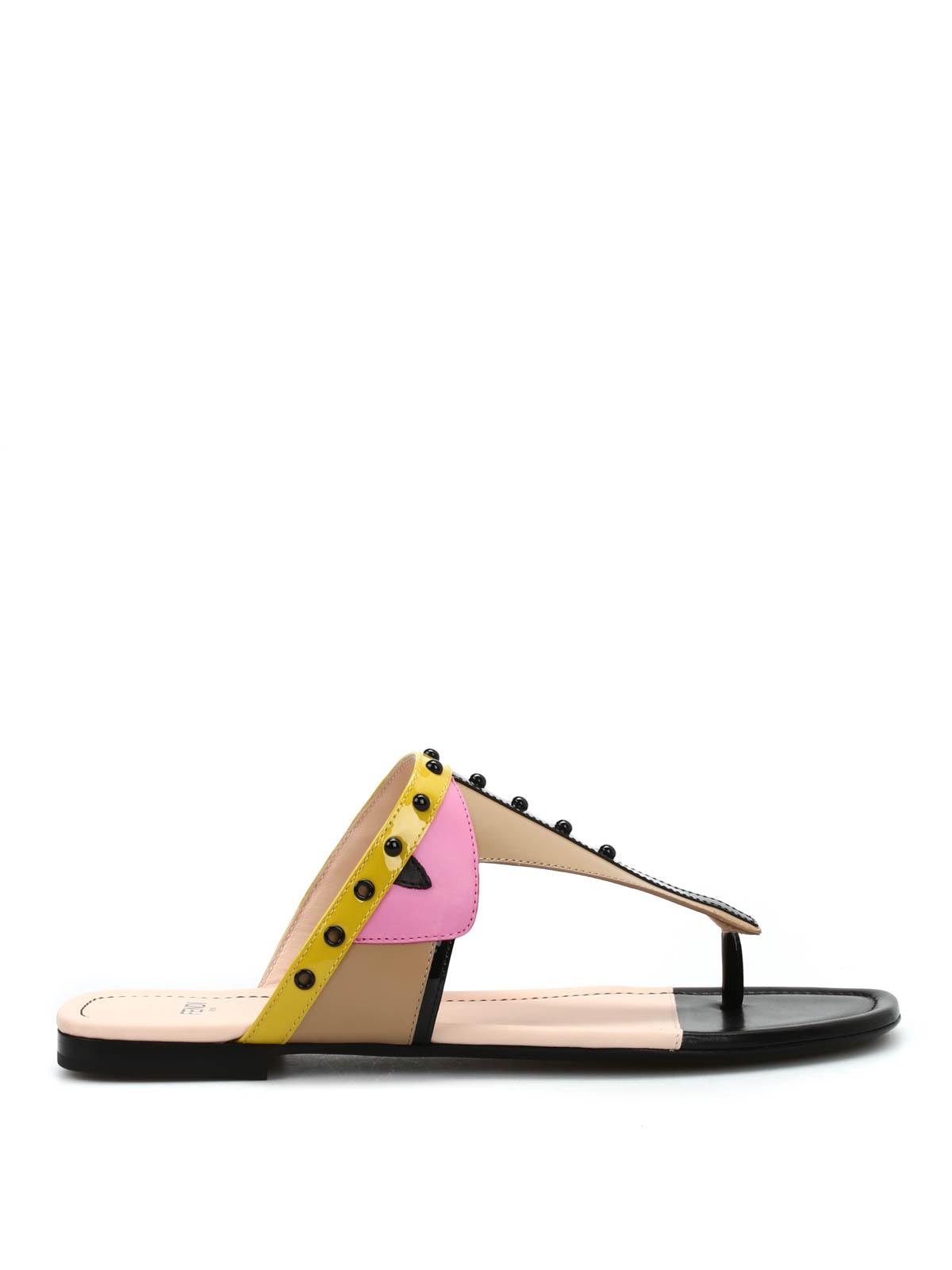 Flip Flops Sandals By Fendi - Sandals  Ikrix-4039
