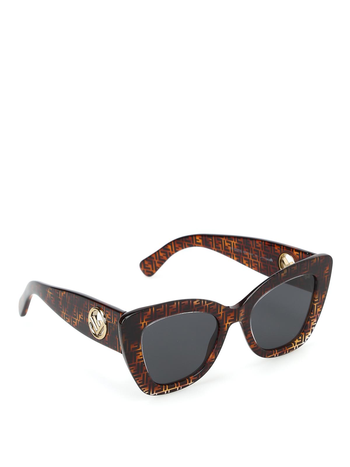ae70ada48b Fendi - F is Fendi FF motif cat eye sunglasses - sunglasses ...