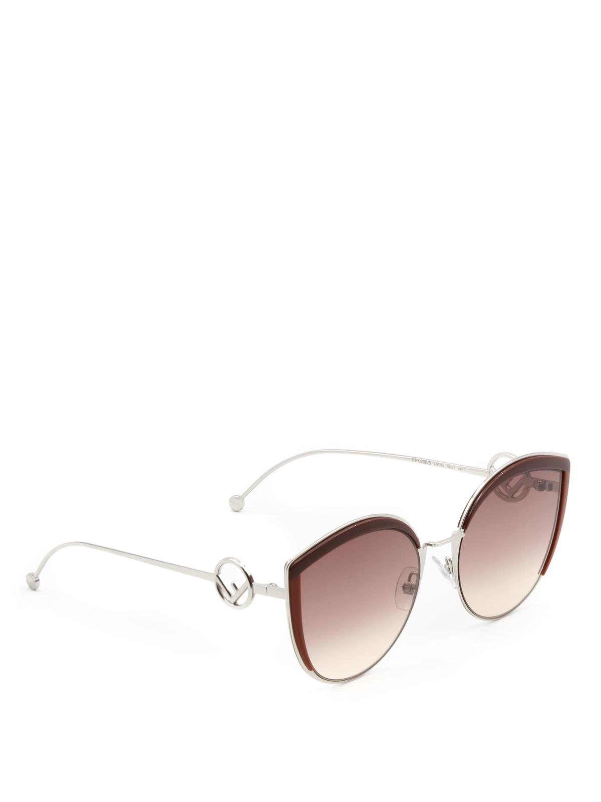 a143cb4537 Fendi - F is Fendi oversize sunglasses - sunglasses - FF0290SLHFHA