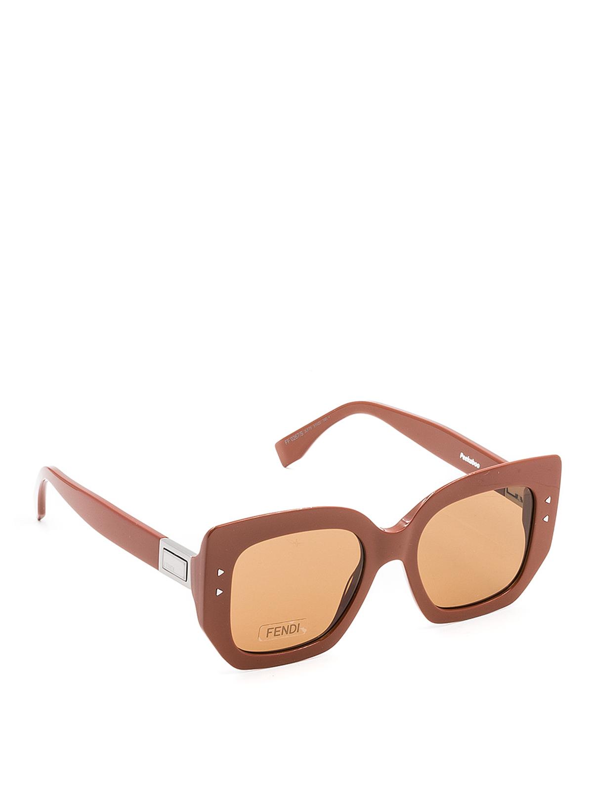 65bb4febd9 Fendi - Sonnenbrille - Braun - Sonnenbrillen - FF0267S2LF70