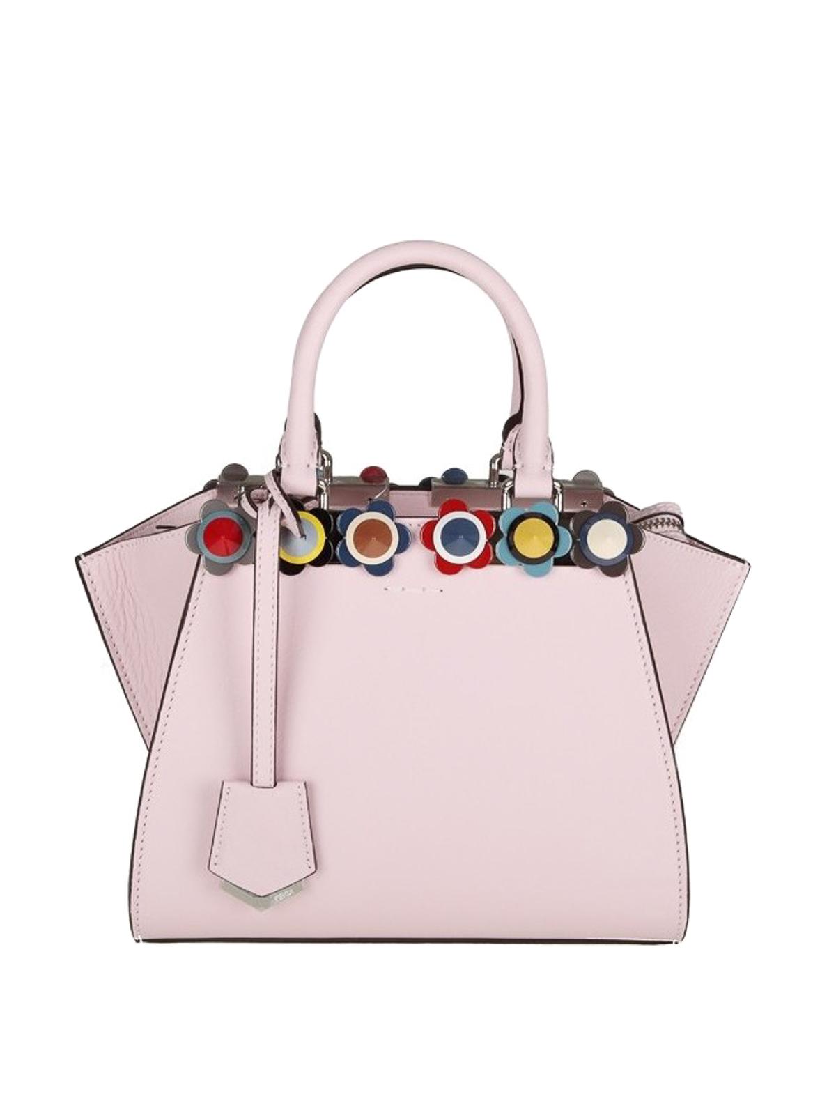 9365a706c95 Fendi - 3 Jours Flowerland stud pink mini tote - totes bags ...
