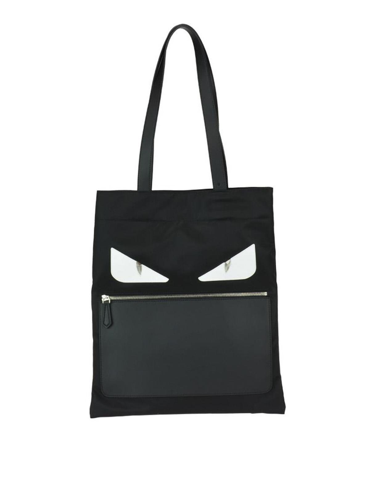 Fendi - Sac Cabas - Bag Bugs Eyes - Sacs à main - 7VA432A3DAF0CQT 3ea599873f8