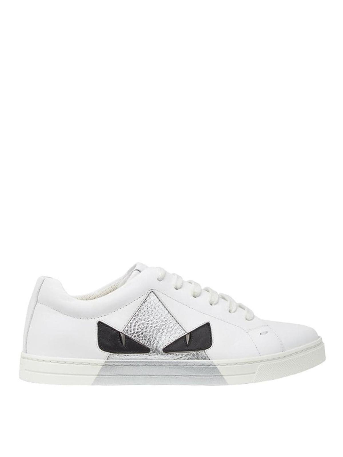 fendi eye sneakers