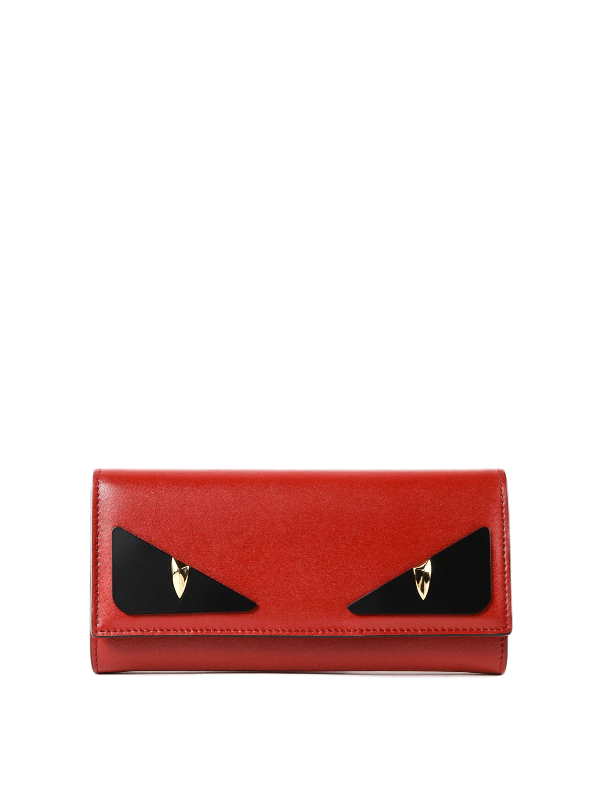 4cef53af9b Fendi - Crayons red leather continental wallet - wallets & purses ...