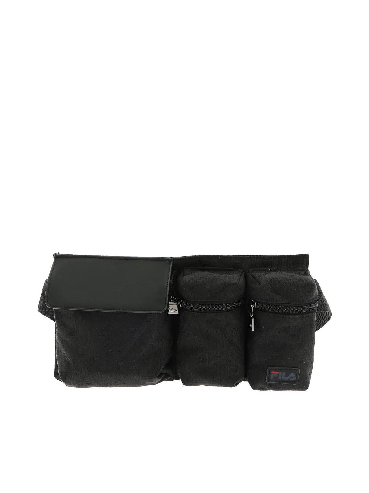 Fila BLACK BRANDED WAIST BAG