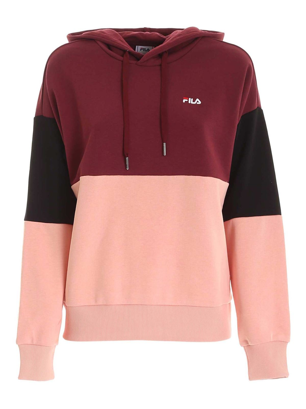 Fila SANJA CROPPED SWEATSHIRT MULTICOLOR