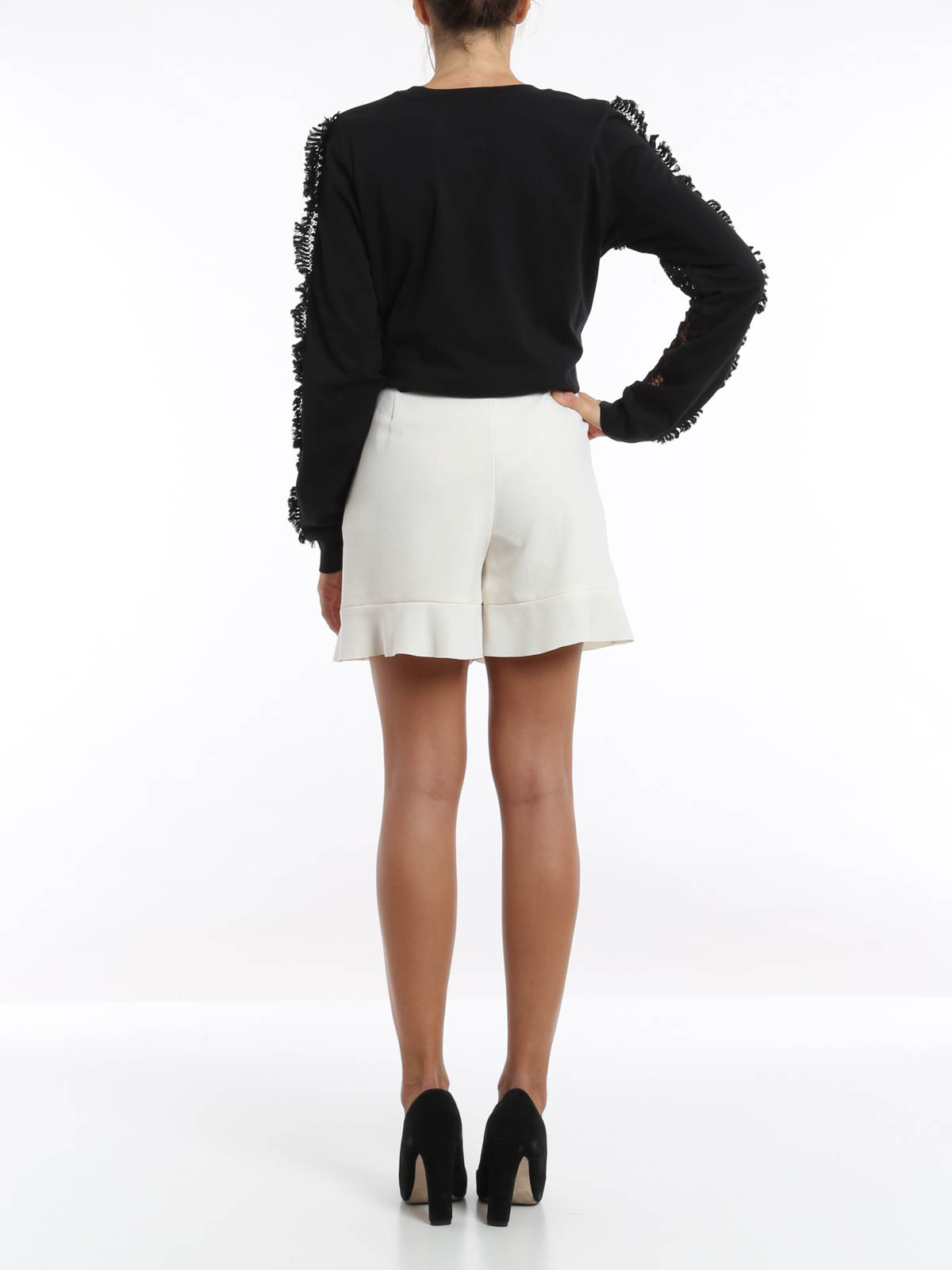4a4ea3092b See by Chloé - Flared shorts - Trousers Shorts - S5HSH01-S5H026-S63
