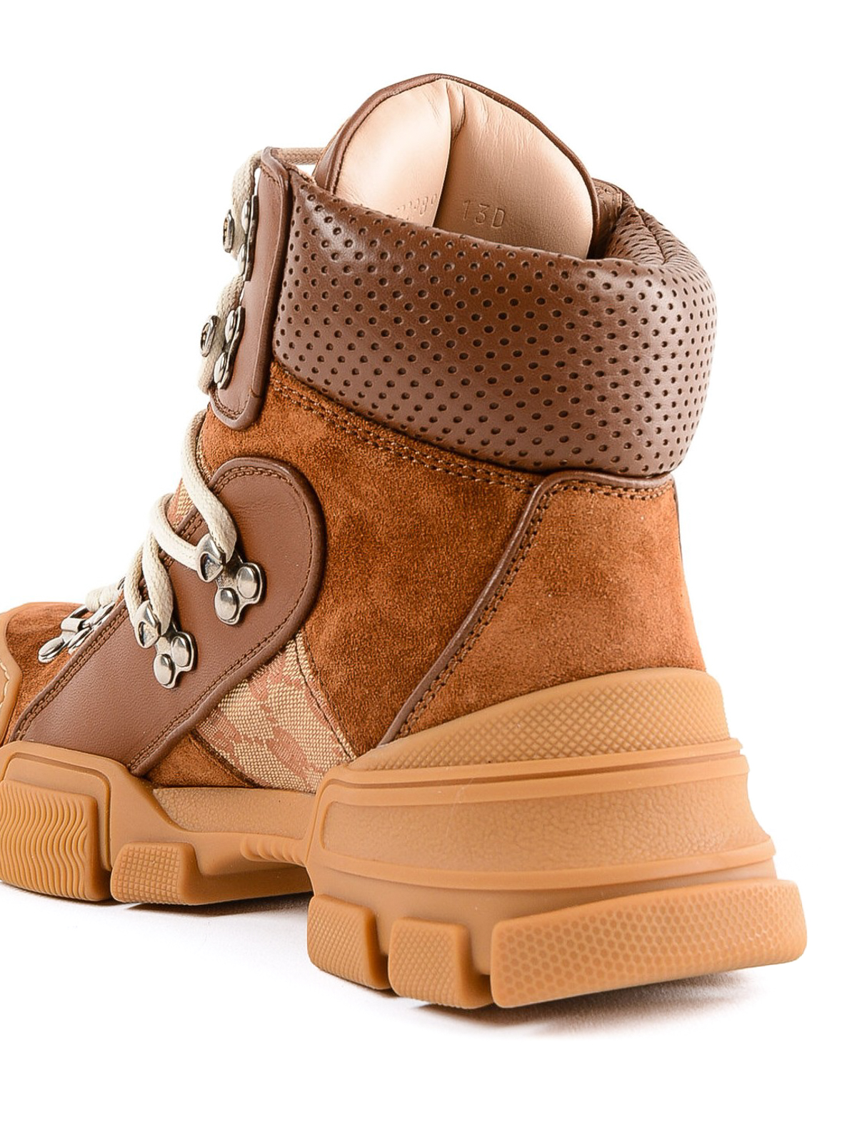 28214cf8c0a Gucci - Flashtrek GG hiking booties - ankle boots - 5229890P3102590