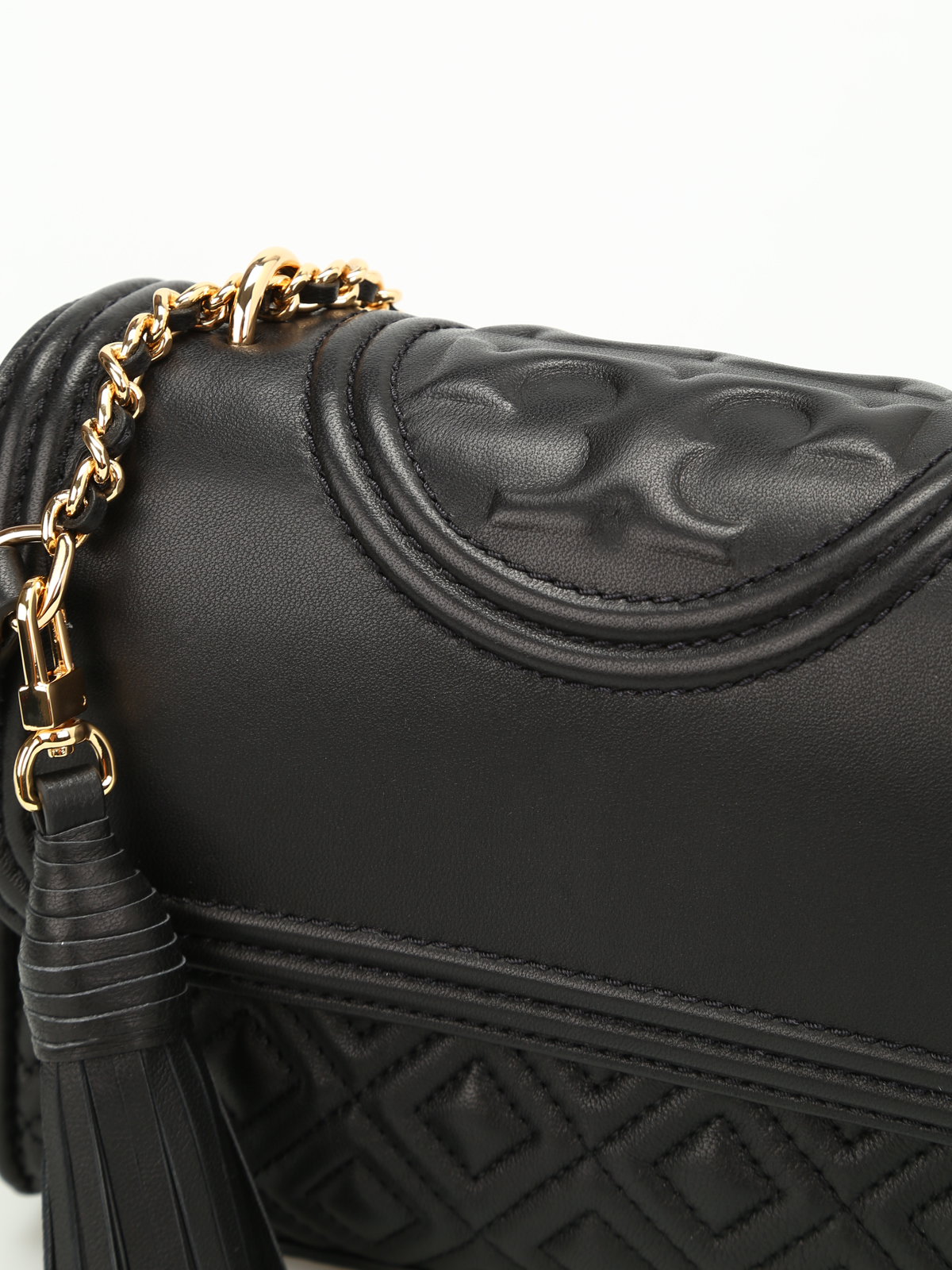 aadae50d6c1 Tory Burch - Fleming quilted leather small bag - shoulder bags ...