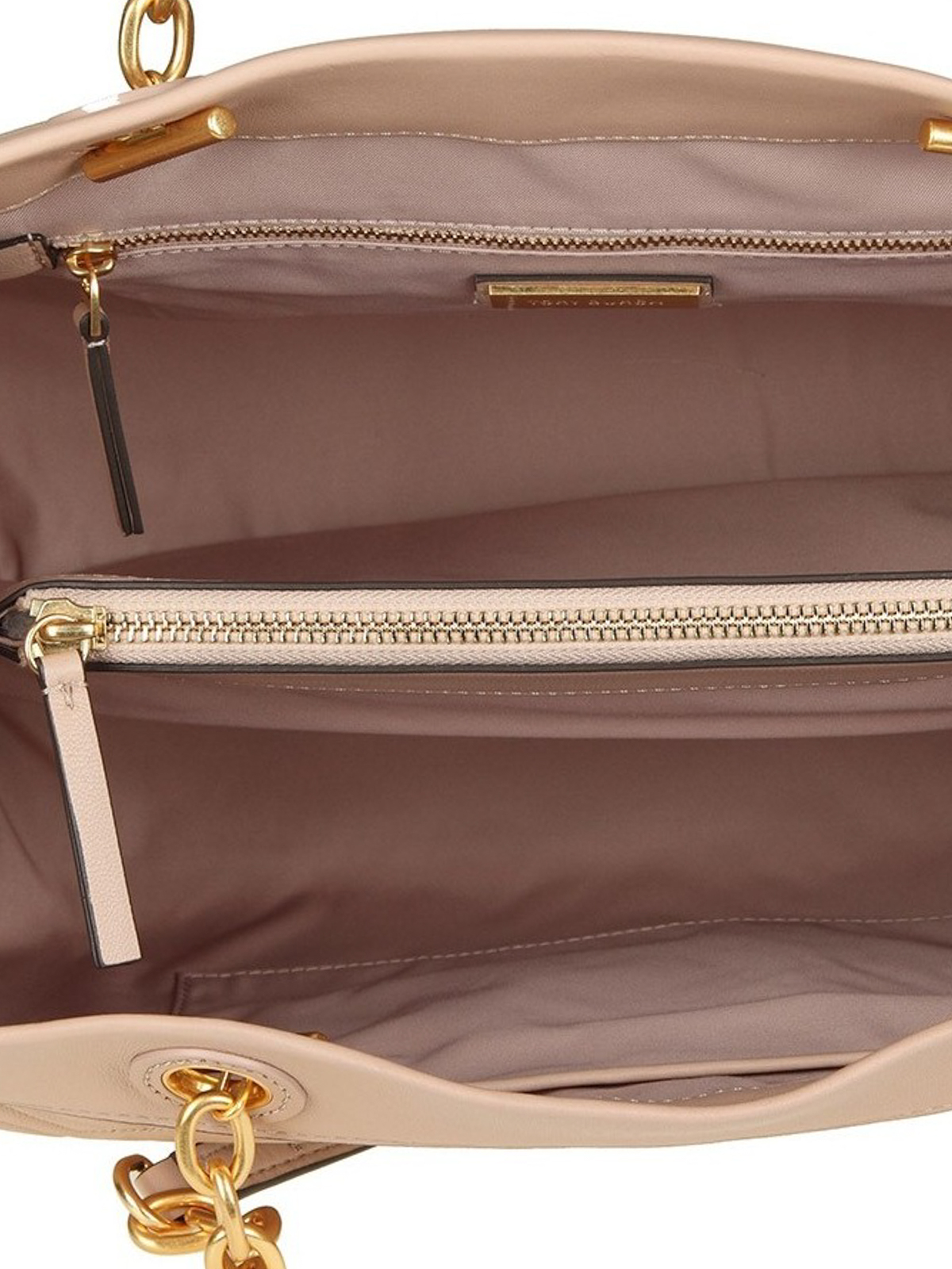e0392bfc3490 Tory Burch - Fleming Triple-Compartment leather Tote - totes bags ...