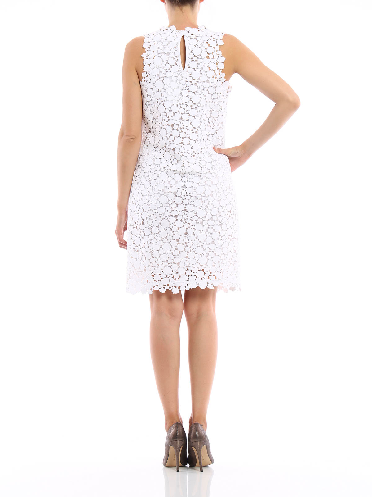 50e8e50ae9d Michael Kors - Floral lace dress - short dresses - MS68W5649P 100