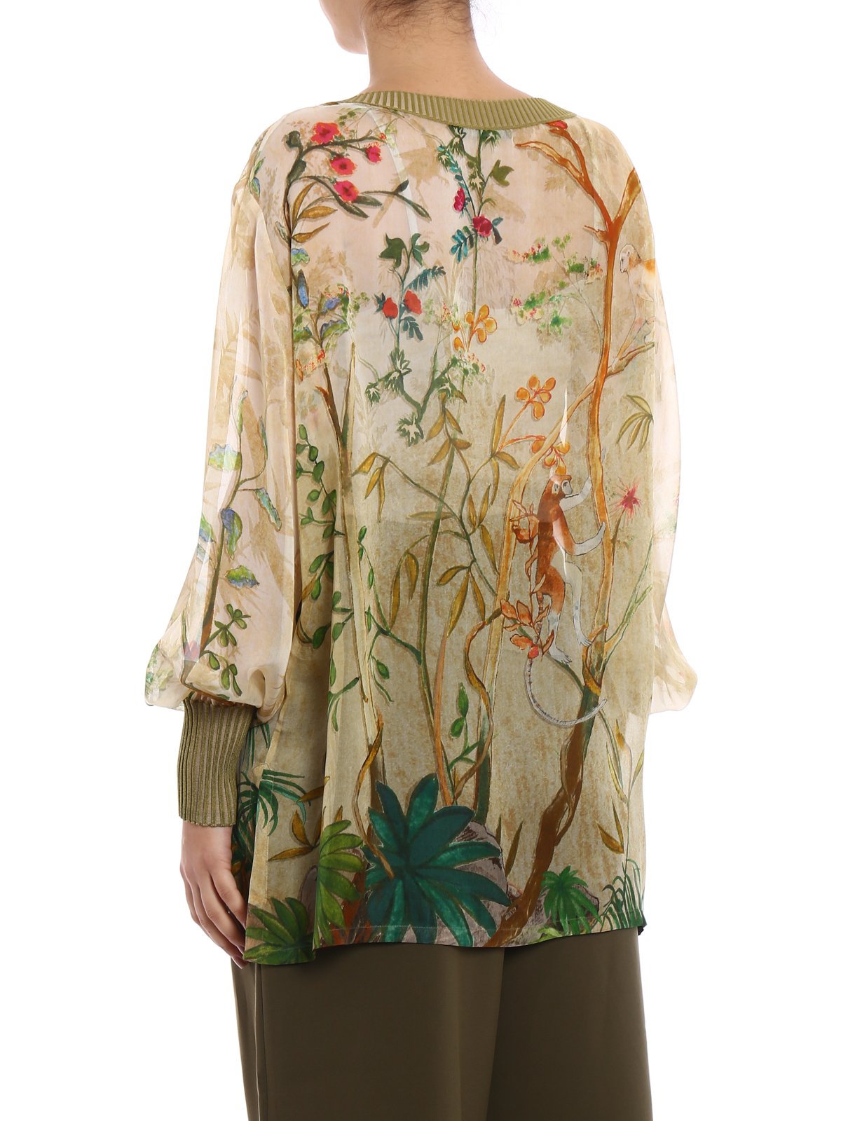 Printed blouse Alberta Ferretti Sale Online Cheap 8LdoITEVj