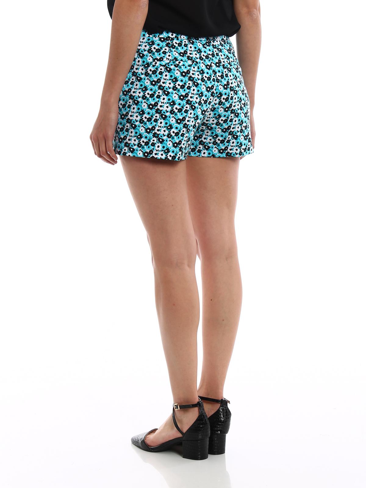 03d002bc238cc Michael Kors - Floral stretch cotton shorts - Trousers Shorts ...