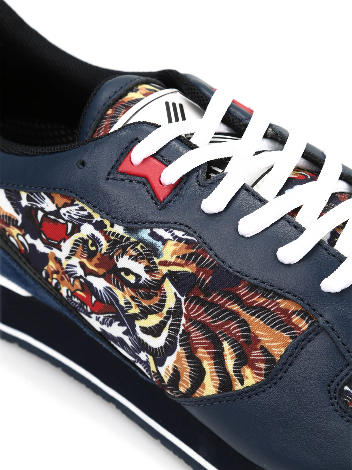 Kenzo Chaussures Pour M42465 Baskets Sport Flying Homme De Tiger axOEnOP