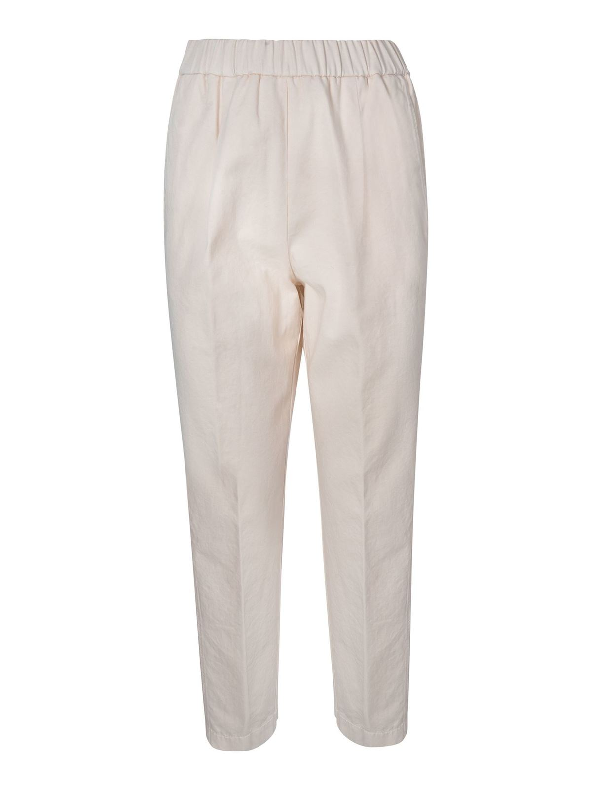 Forte Forte SOFT PANTS IN IVORY