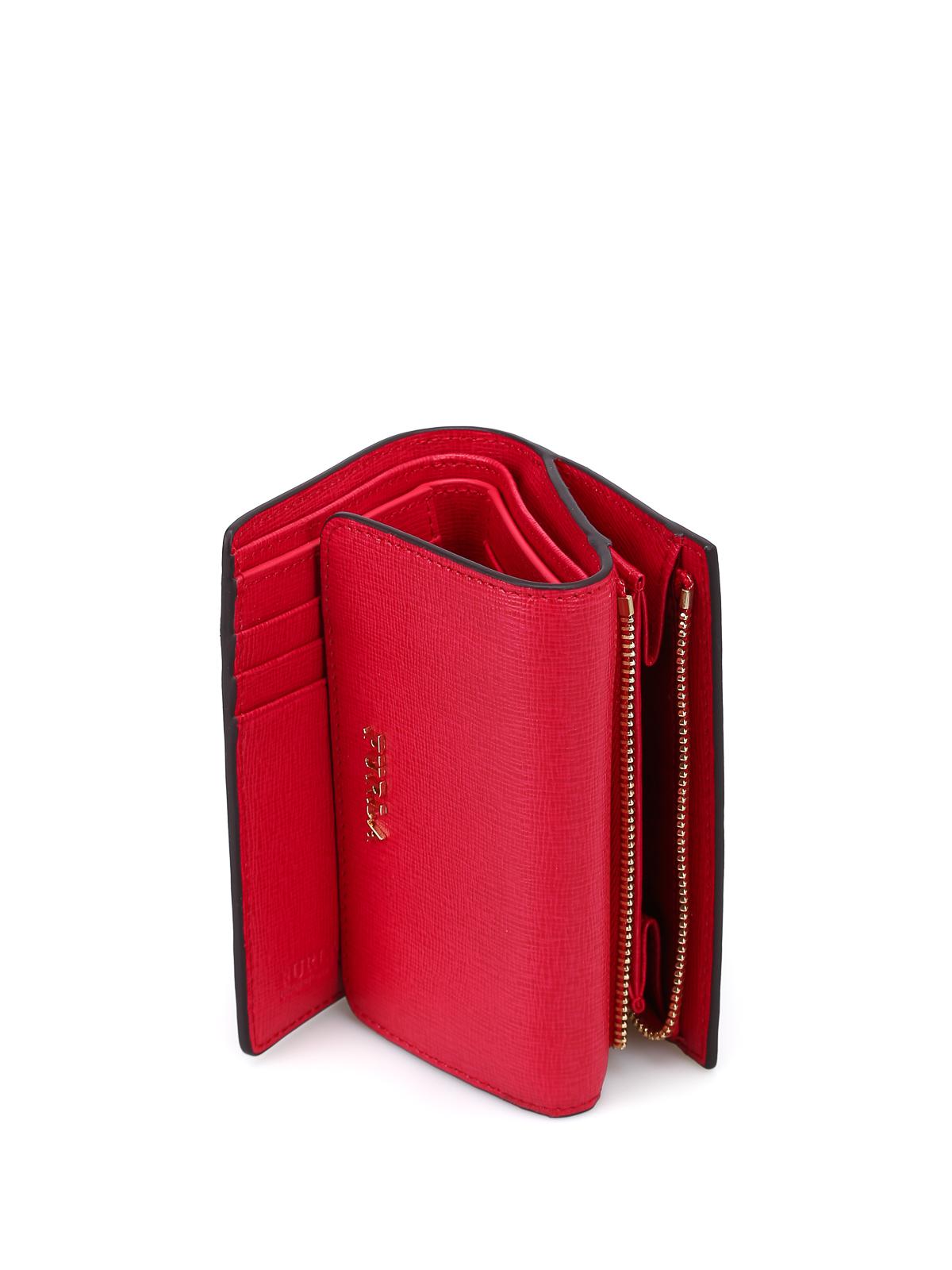 disponibilità nel Regno Unito f5ca7 0c44b Furla - Portafoglio rosso Babylon piccolo - portafogli - 872819