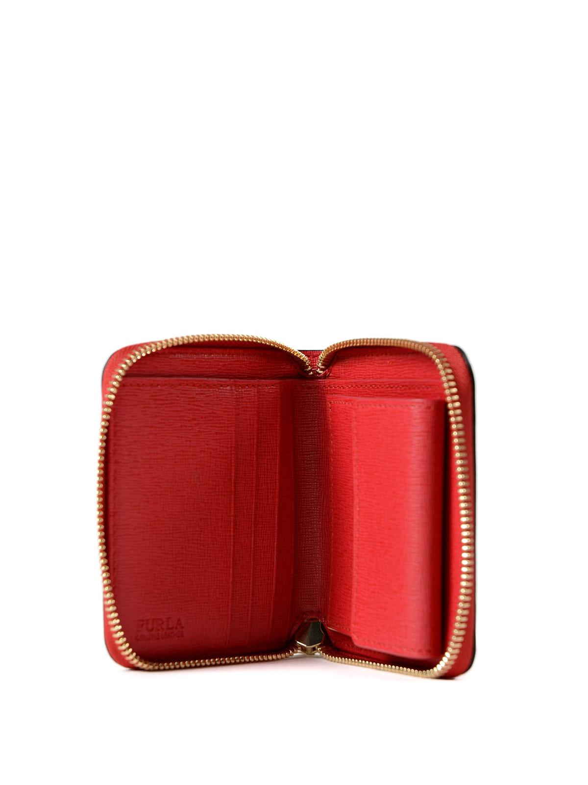 a basso prezzo 6a8ca 85685 Furla - Portafoglio rosso Babylon piccolo - portafogli - 908289