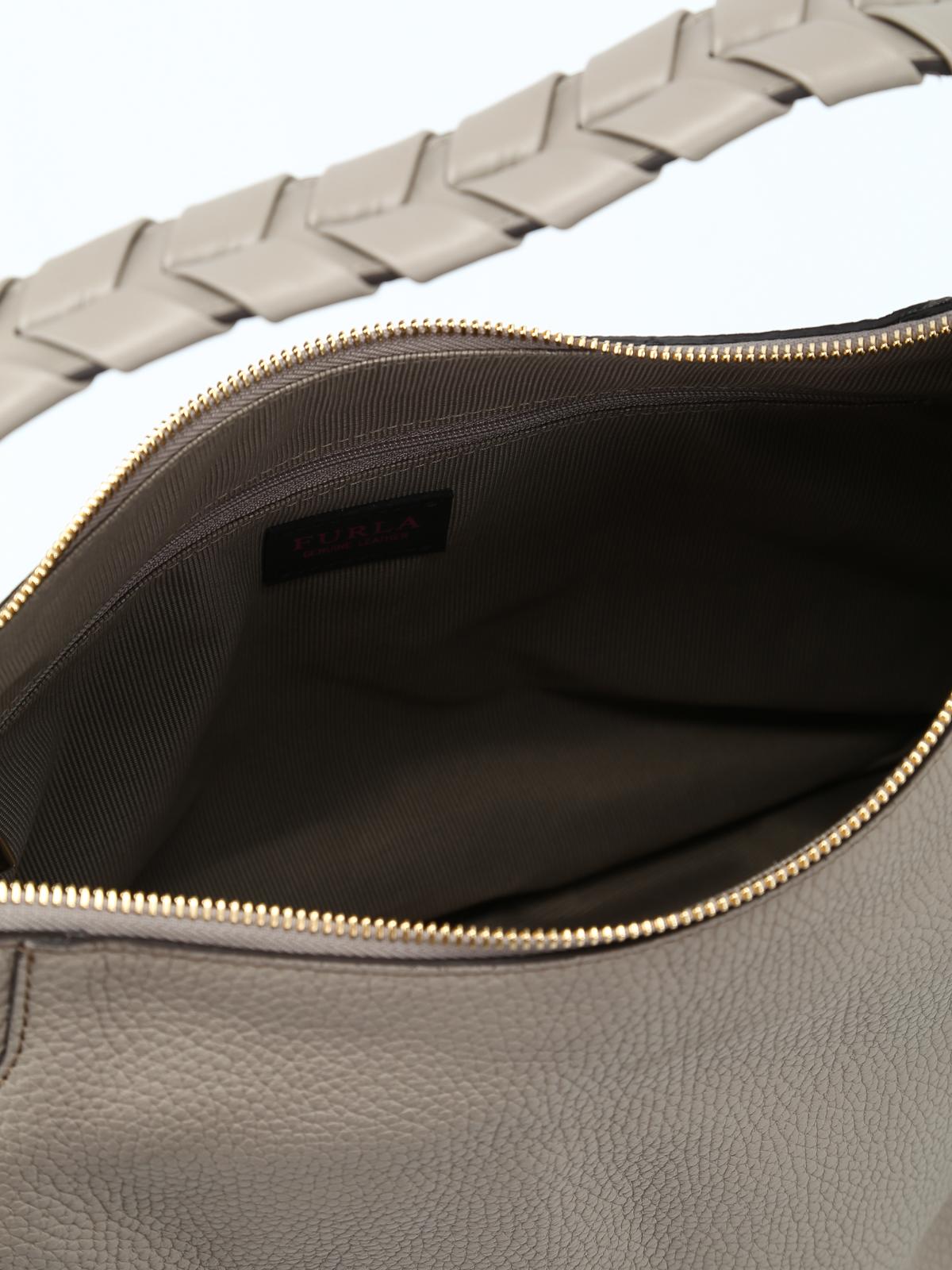 fb56f205f7c Furla - Rialto greige hobo bag - shoulder bags - 981782   iKRIX.com