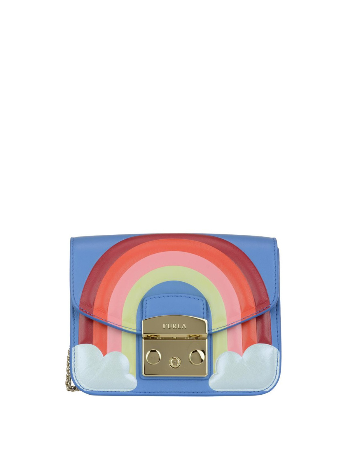 Furla Cross Body Bags Metropolis Fantasia Rainbow Bag