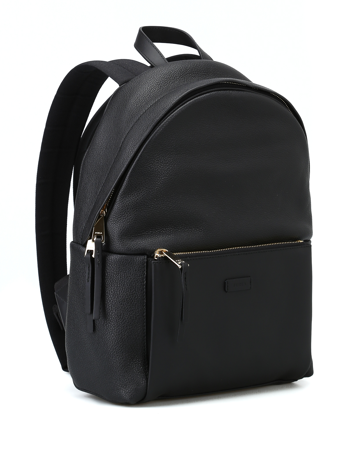 Furla Giudecca Small Dome Backpack Backpacks 981770 Onyx Authentic Online