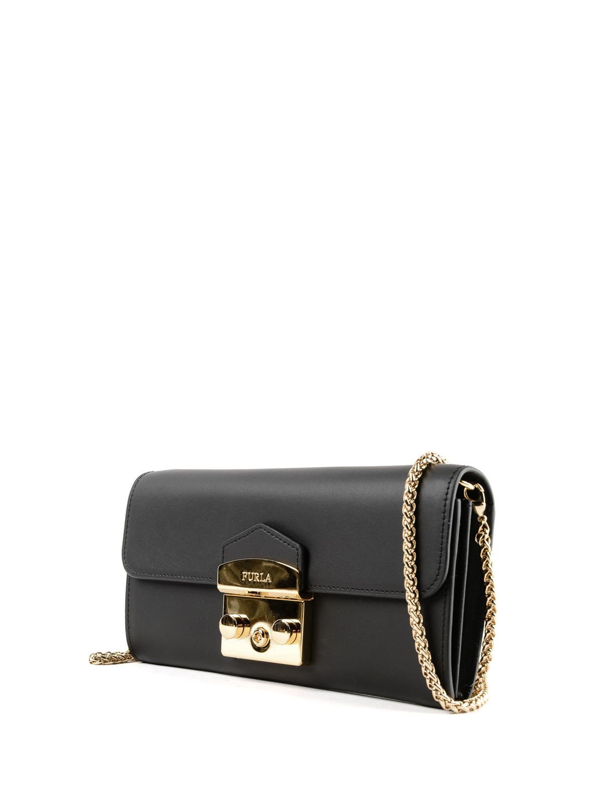 a87edf08b26b Furla - Metropolis XL chain wallet mini bag - clutches - 949448 O60