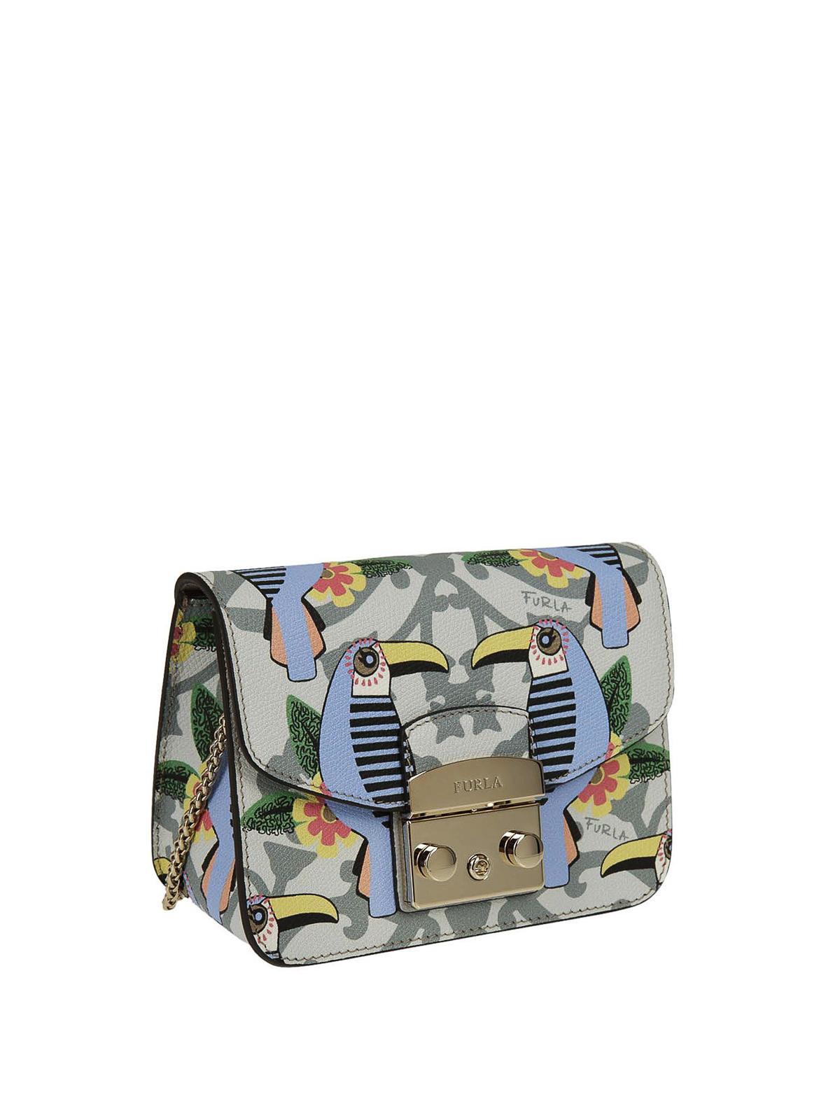 Furla Metropolis Mini Toucan Print Bag Cross Body Bags 920319 Online