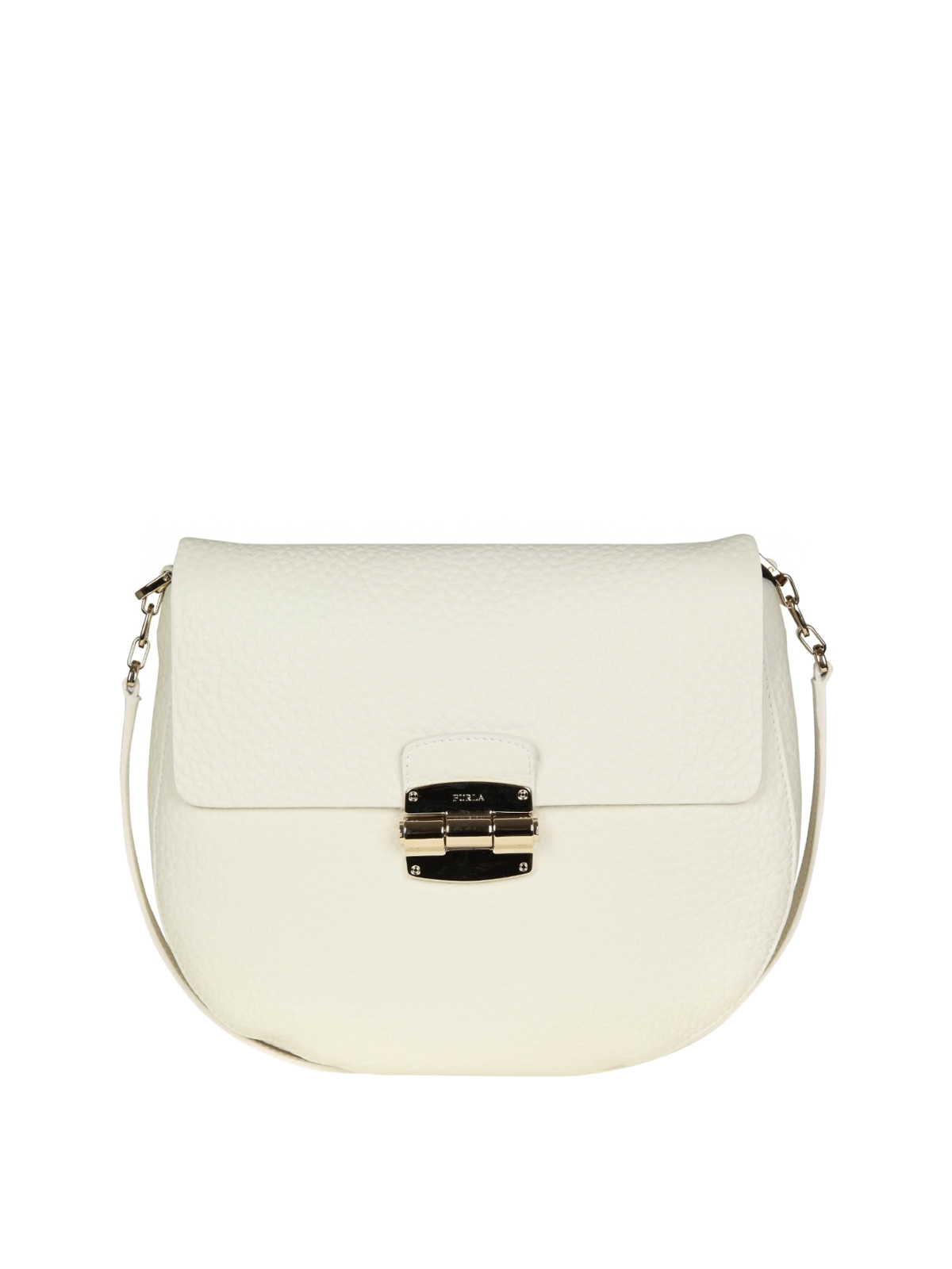 Furla Club S grained leather bag VGfByp
