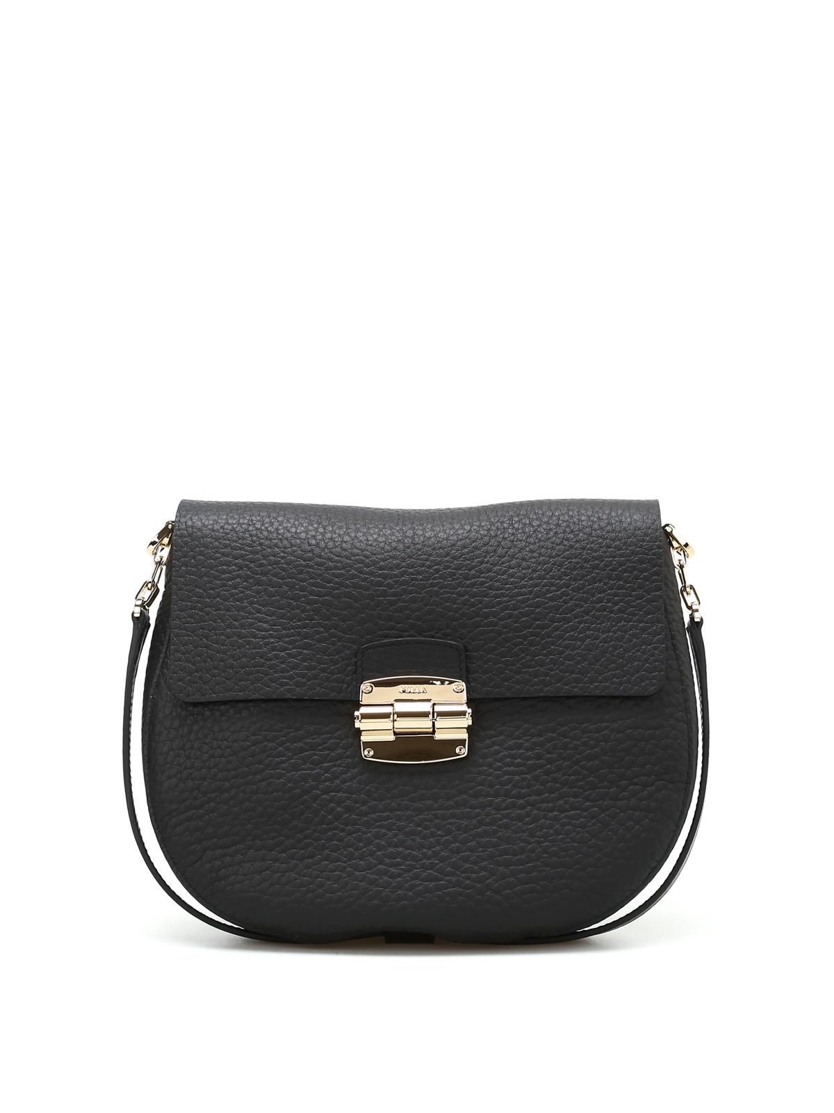 Furla Club S leather shoulder bag vEU1bgzO