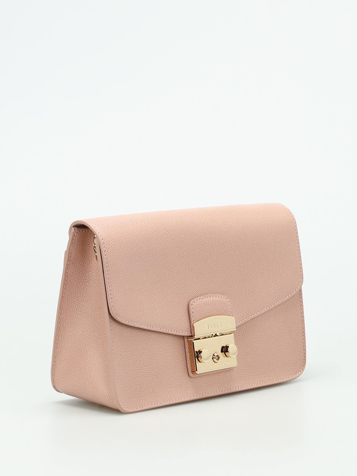 Furla Metropolis S leather shoulder bag ZJbE6kSwU