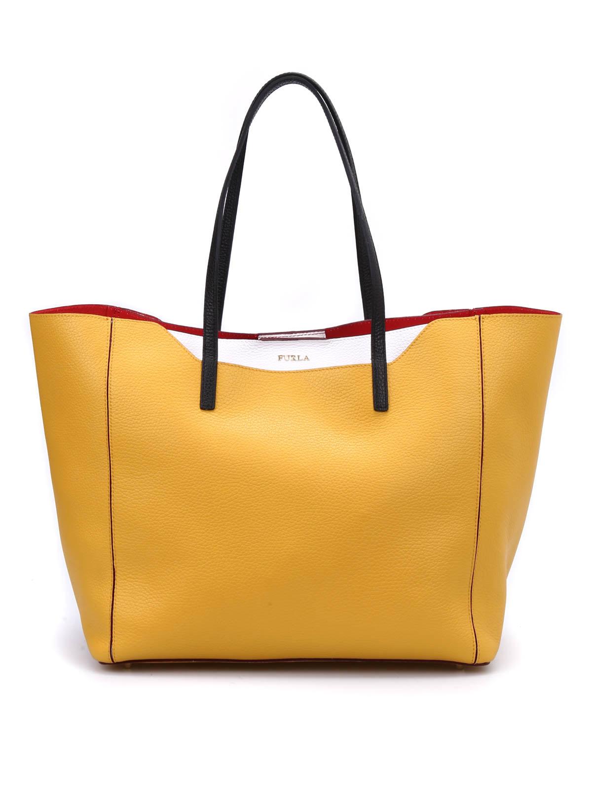 furla handtasch fantasia gelb handtaschen 811081 zam0. Black Bedroom Furniture Sets. Home Design Ideas