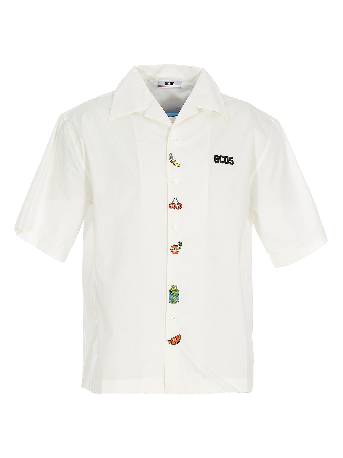 Gcds EMBROIDERED COTTON SHIRT