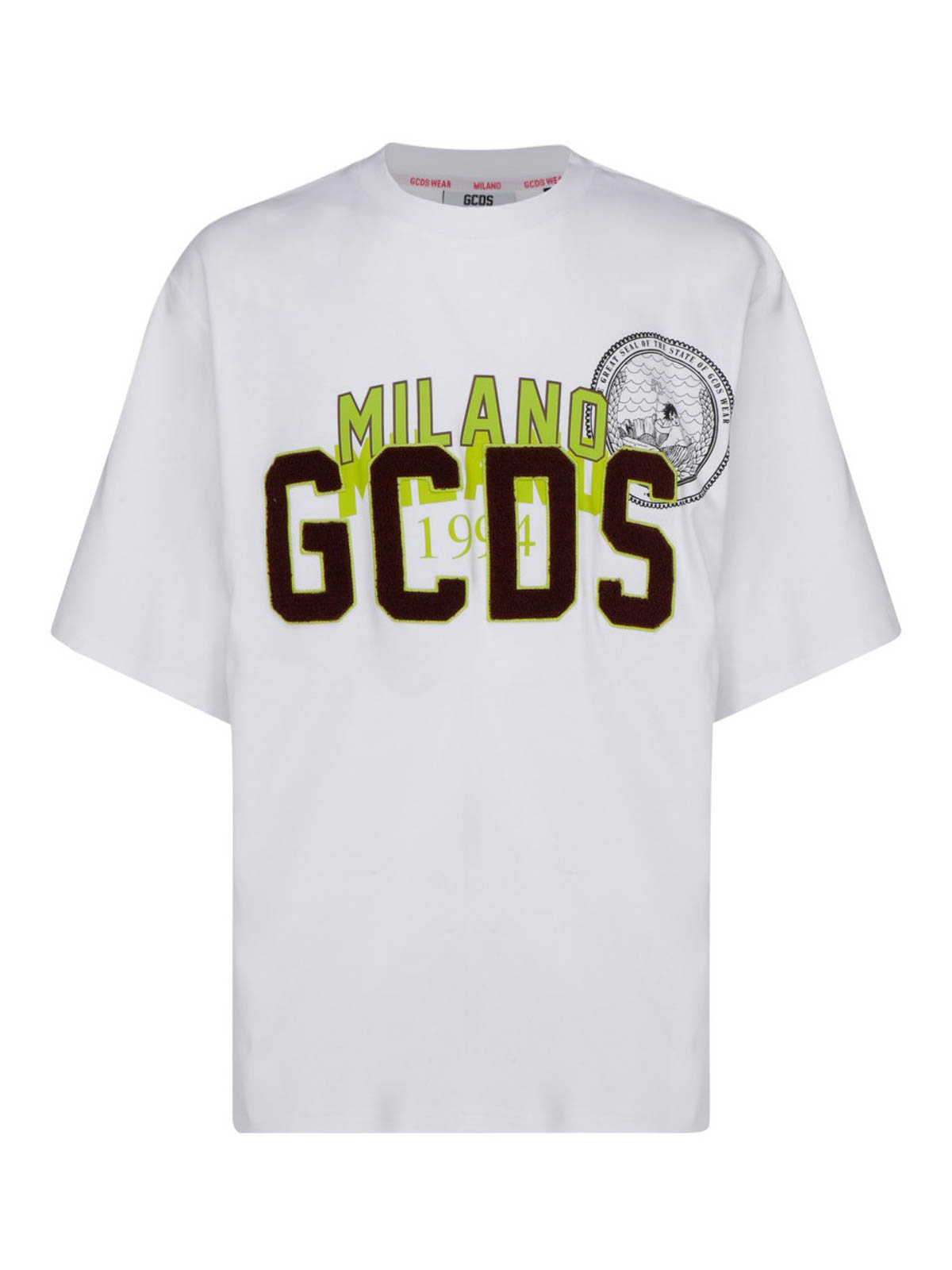 Gcds FLOCKED LOGO T-SHIRT