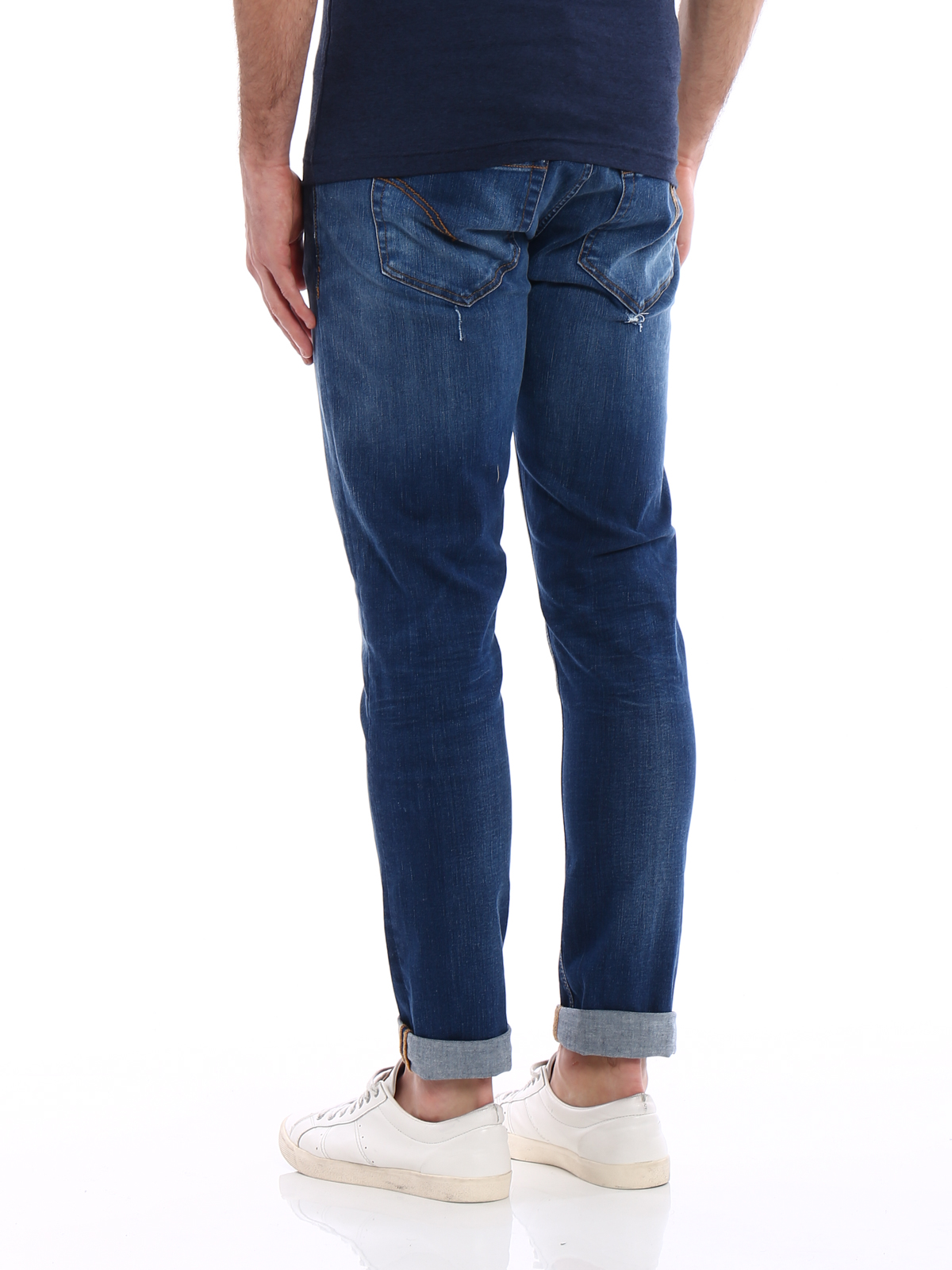 george skinny fit - Blue Dondup 1SHzKjHLD