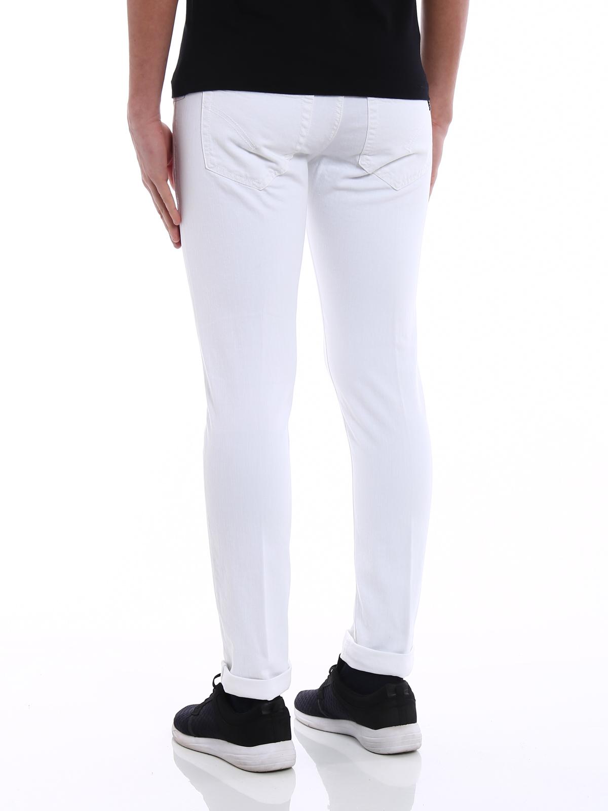 skinny jeans - White Dondup Mi0AdS