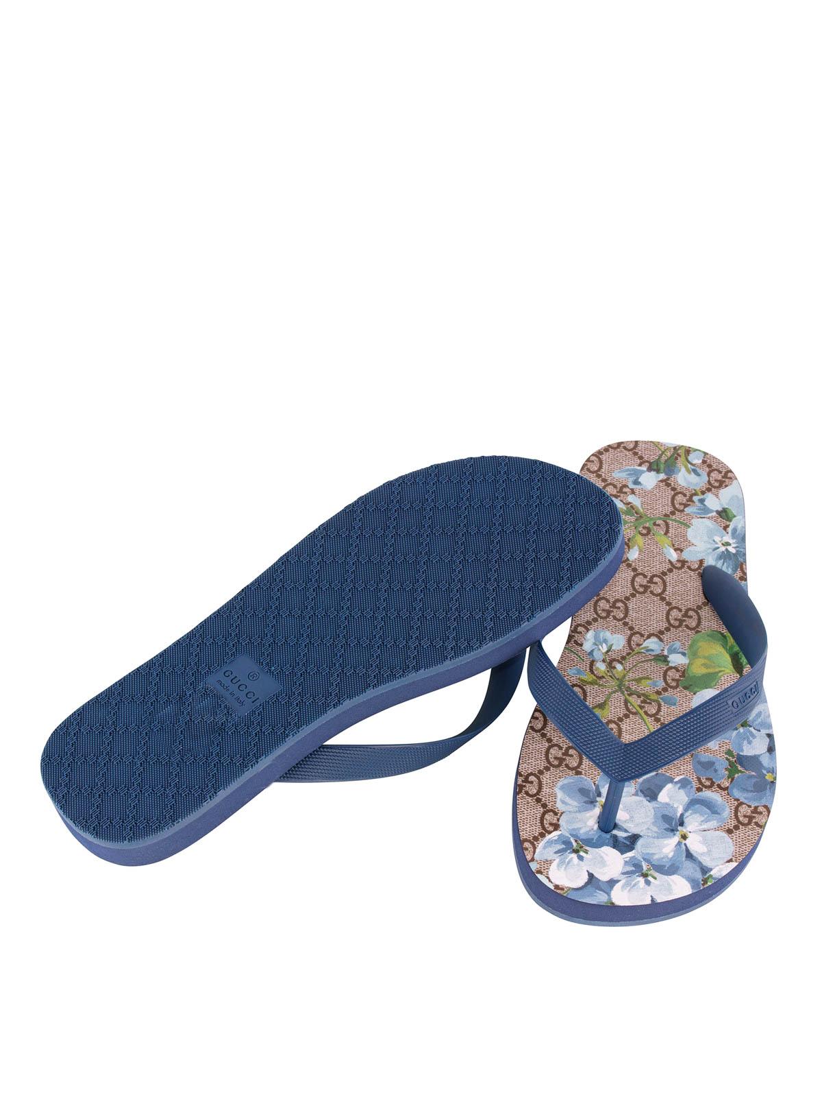 e8d802493293 Gucci - GG Blooms flip flops - flip flops - 283029 JCC504076