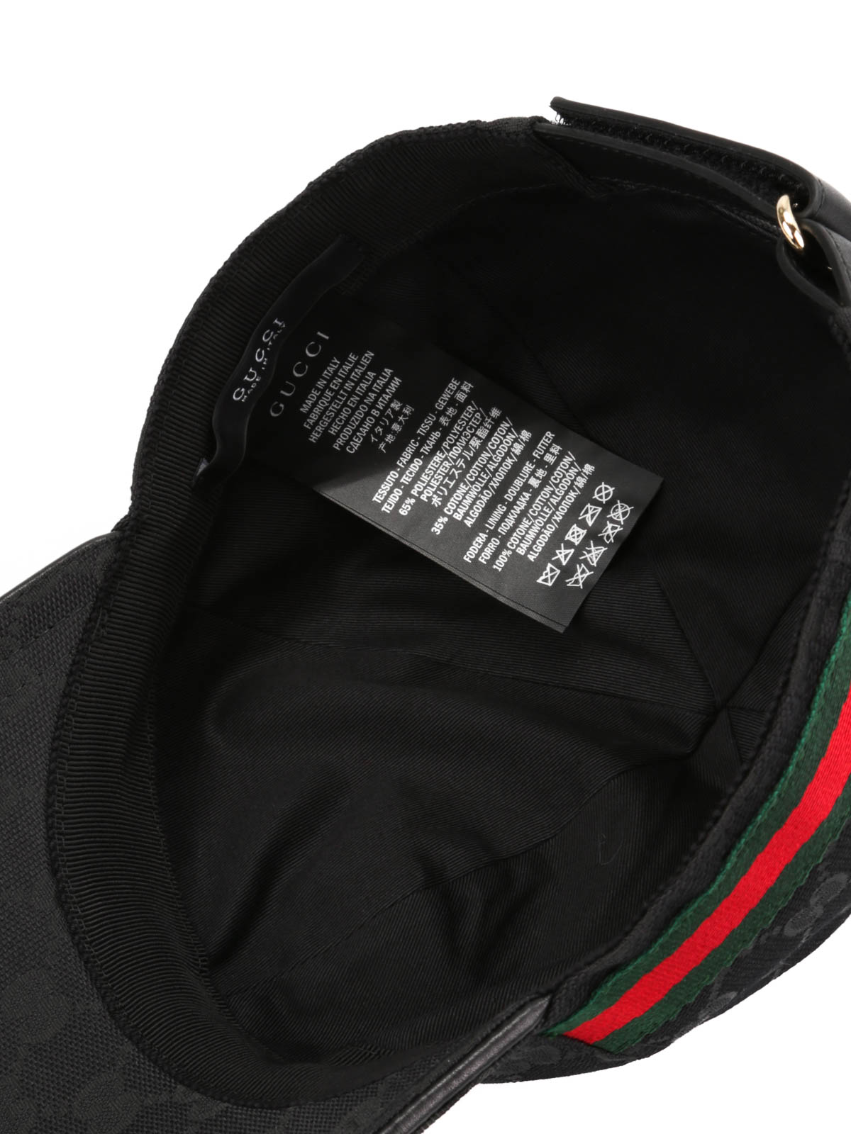 Gucci - GG canvas baseball hat - hats   caps - 200035 FFKPG 1060 cbbc28cde5e