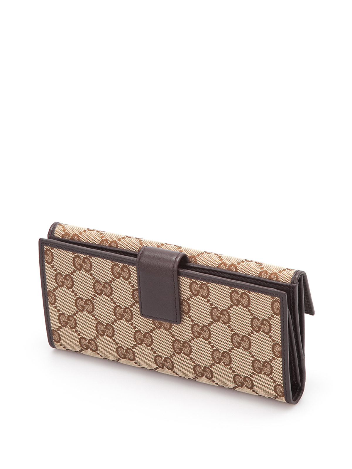 Gucci Gg Canvas Continental Wallet Wallets Amp Purses