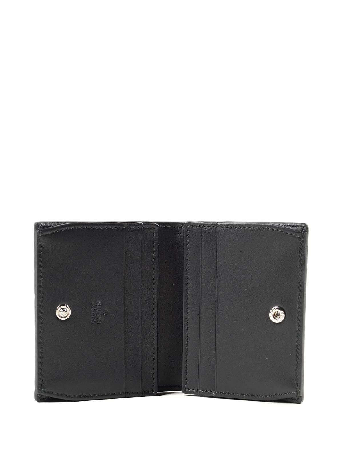 71f4cfb9f975d1 Gucci - GG embossed leather card holder - wallets & purses ...