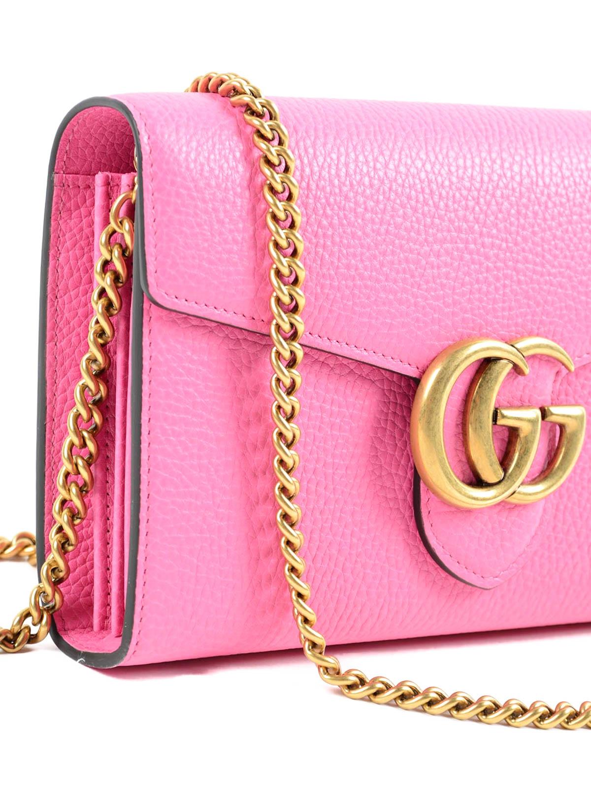 1d94b75eb Gucci - Bolsa De Hombro Gg Marmont - Rosado - Bolsos de hombro ...