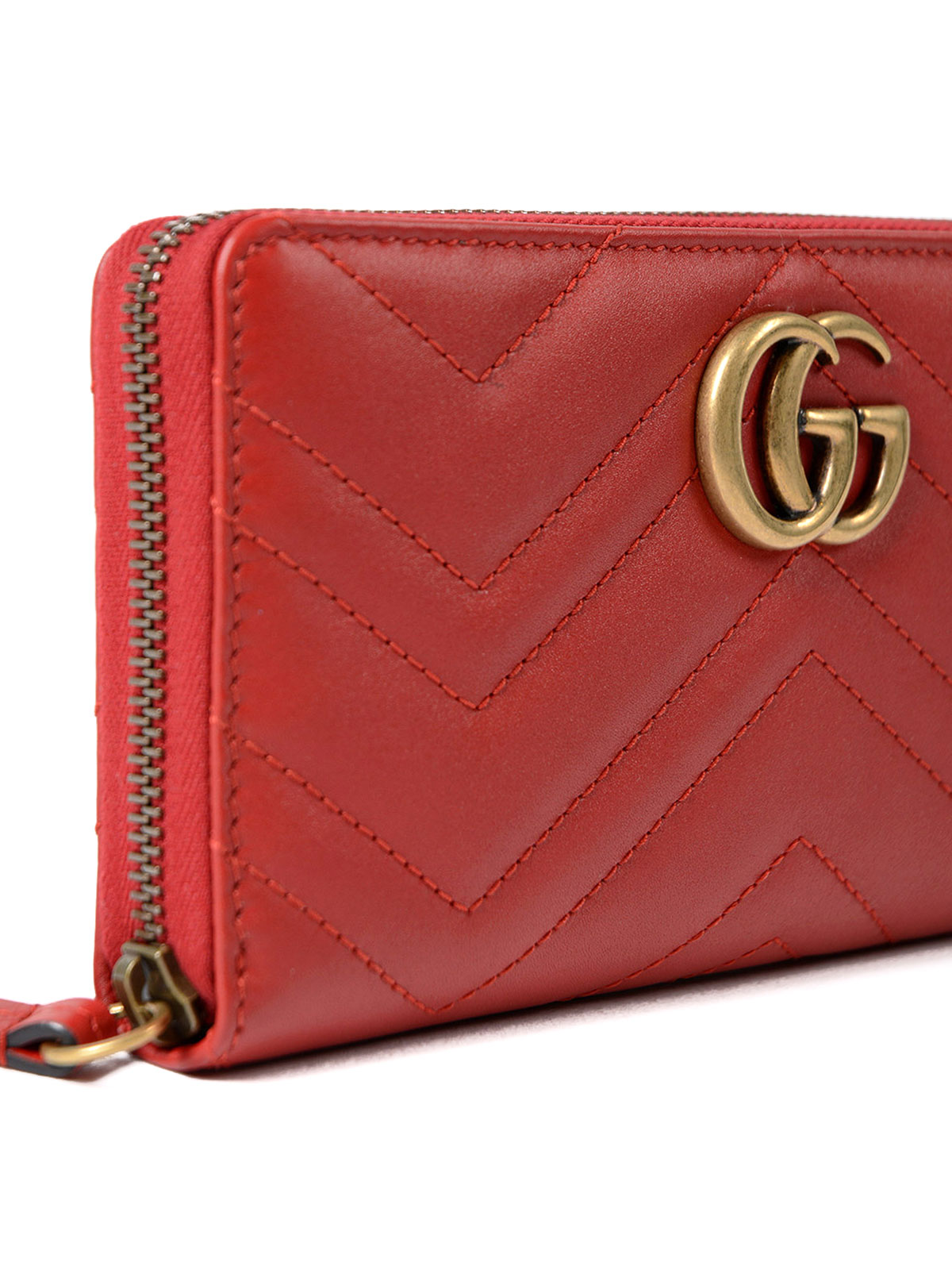 95e97e8078a Gucci - GG Marmont zip-around red wallet - wallets   purses ...