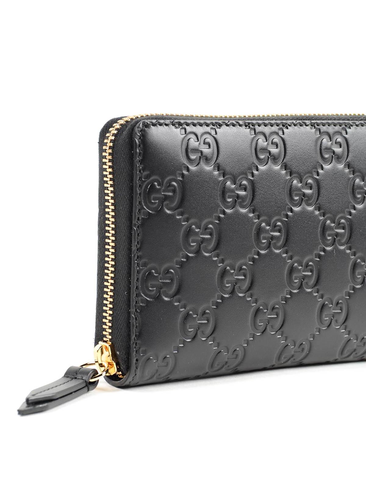 d82c264928447 Gucci - Portemonnaie Gg Signature - Schwarz - Portemonnaies und ...