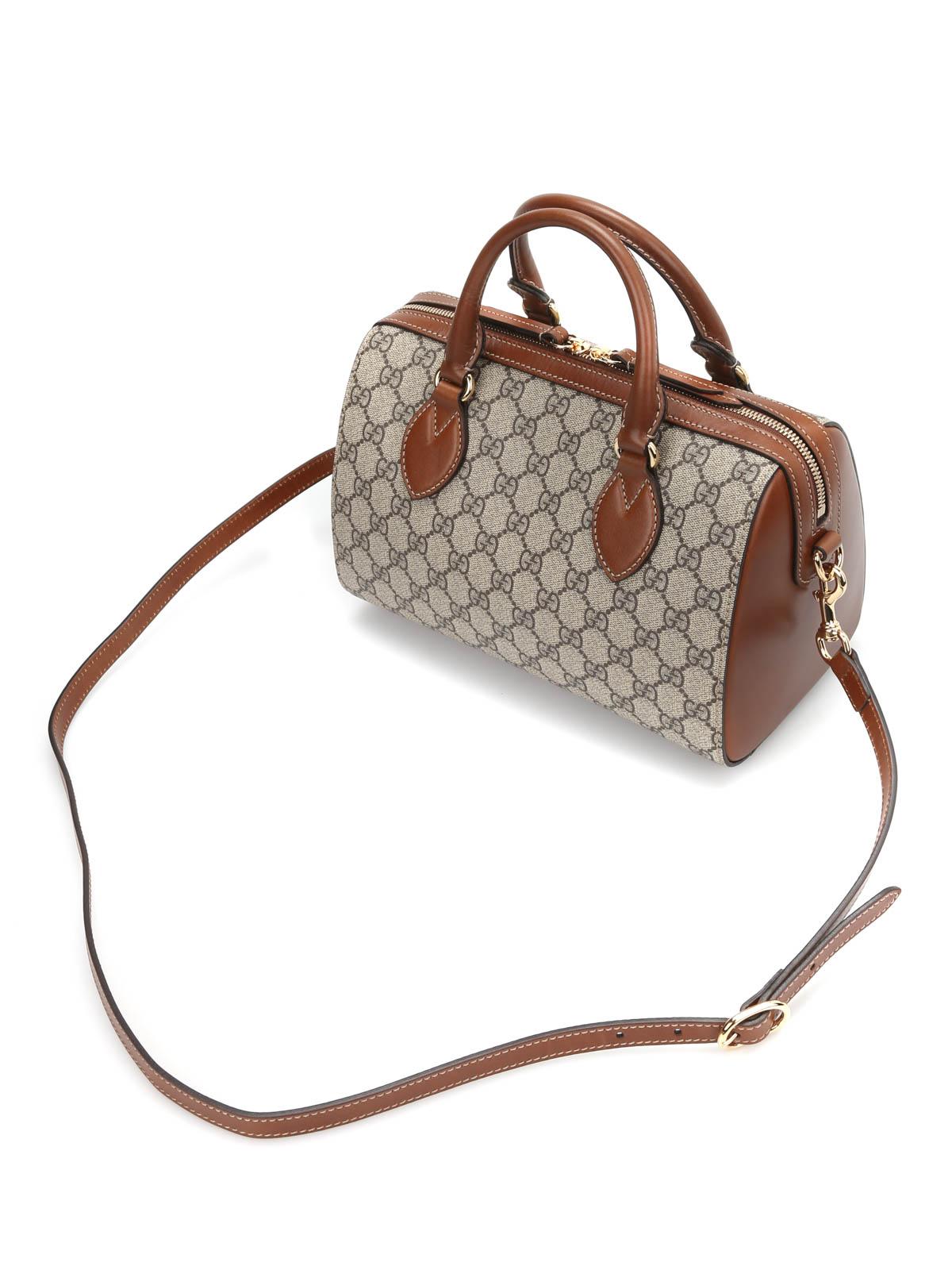 cc97c38d137c Gucci - GG Supreme mini top handle bag - bowling bags - 409529 KLQHG ...