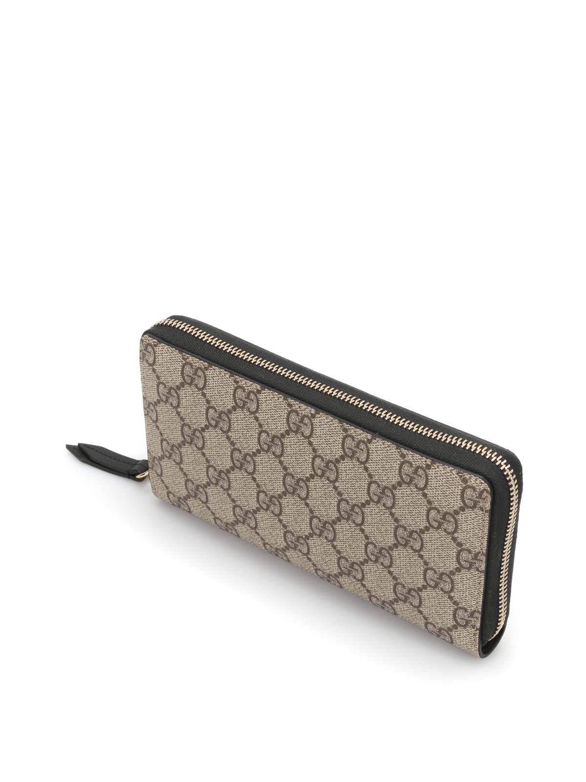 0274f053717 Gucci - GG Supreme zip- around wallet - wallets   purses - 410102 ...