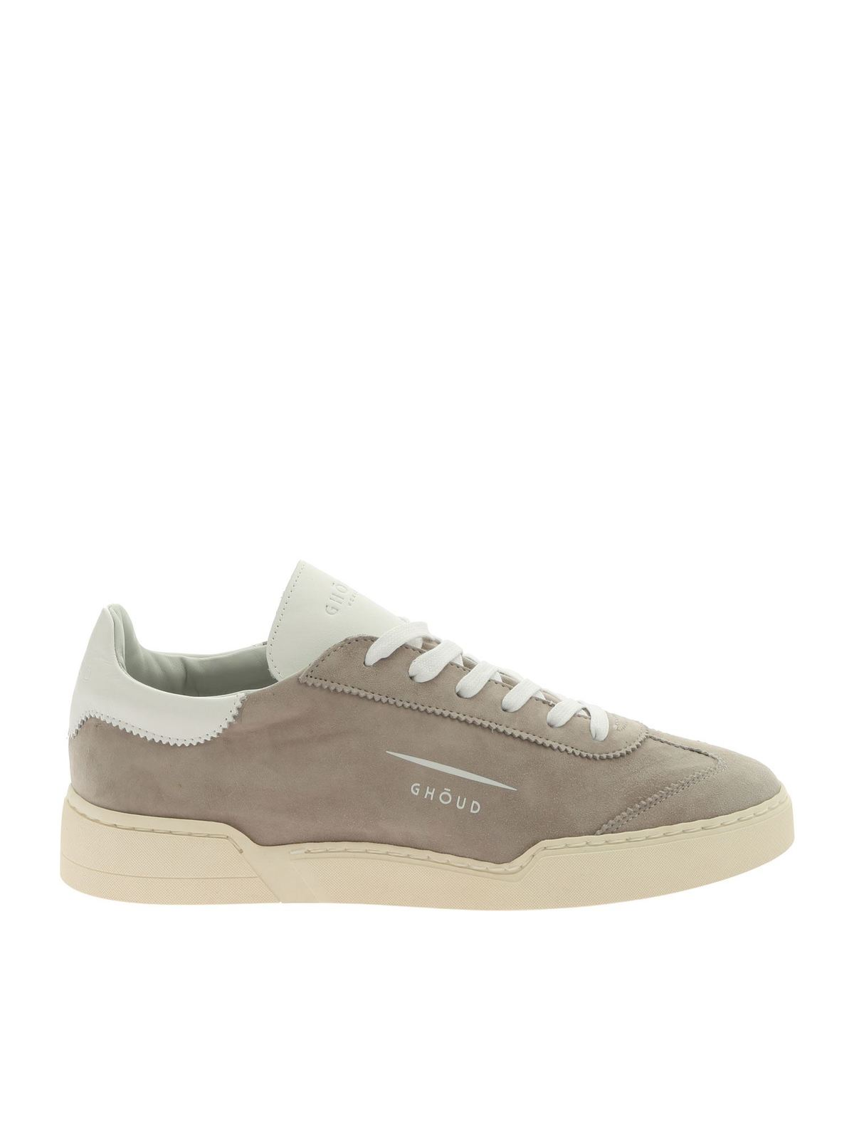 Ghoud Venice Leathers LOB 01 GRAY SNEAKERS IN SUEDE LEATHER