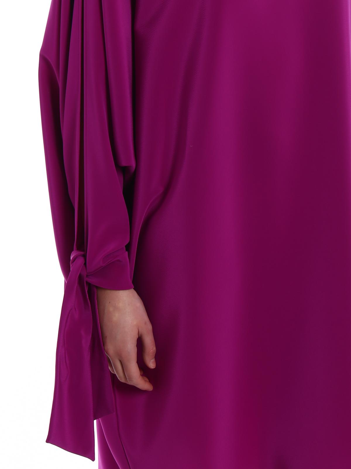 ad1f498c1bd Gianluca Capannolo - Robe De Cocktail - Violet - Robe de cocktail ...