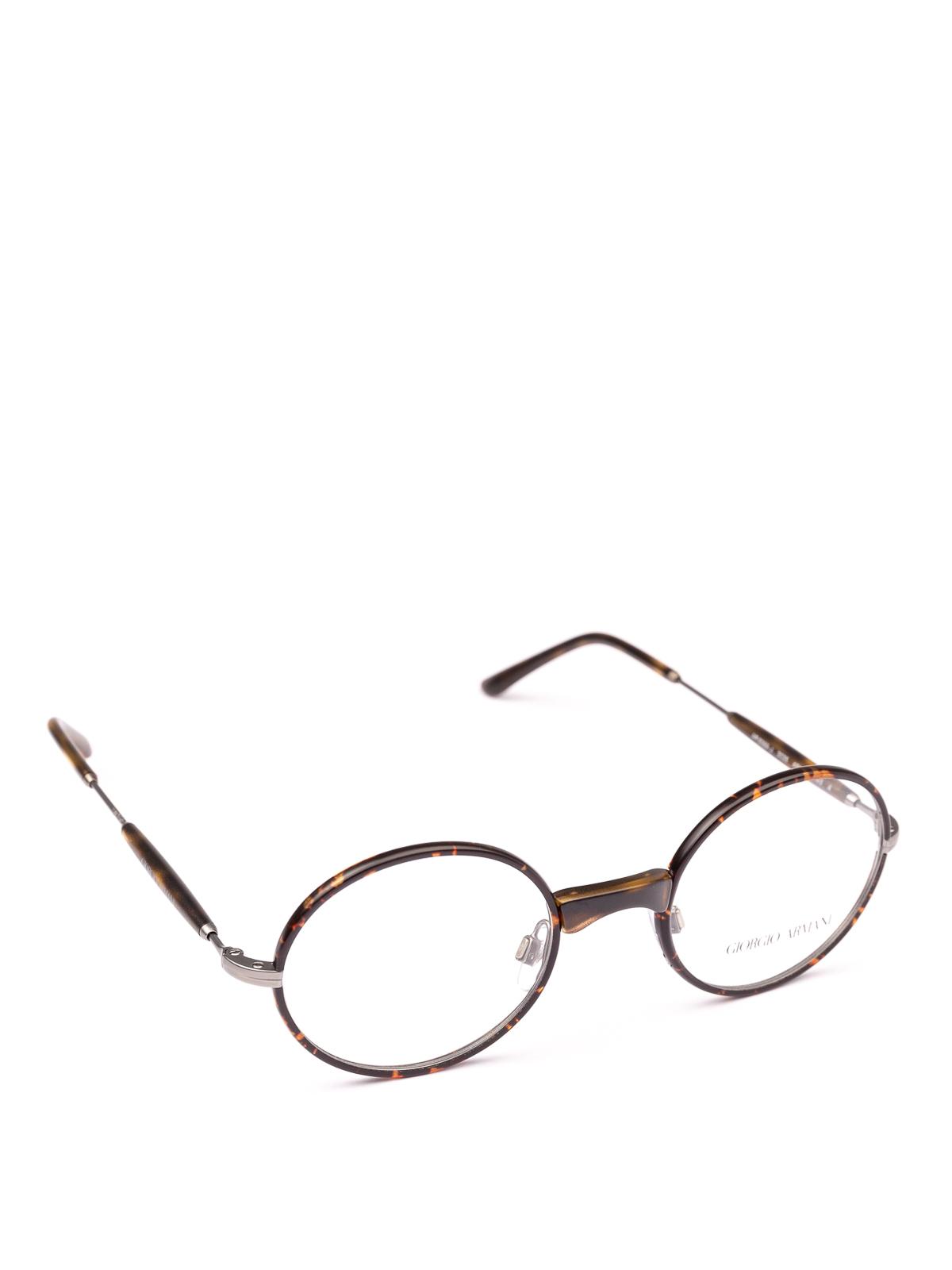 b0e74f0e92a6 Giorgio Armani - Havana slender frame oval eyeglasses - glasses ...