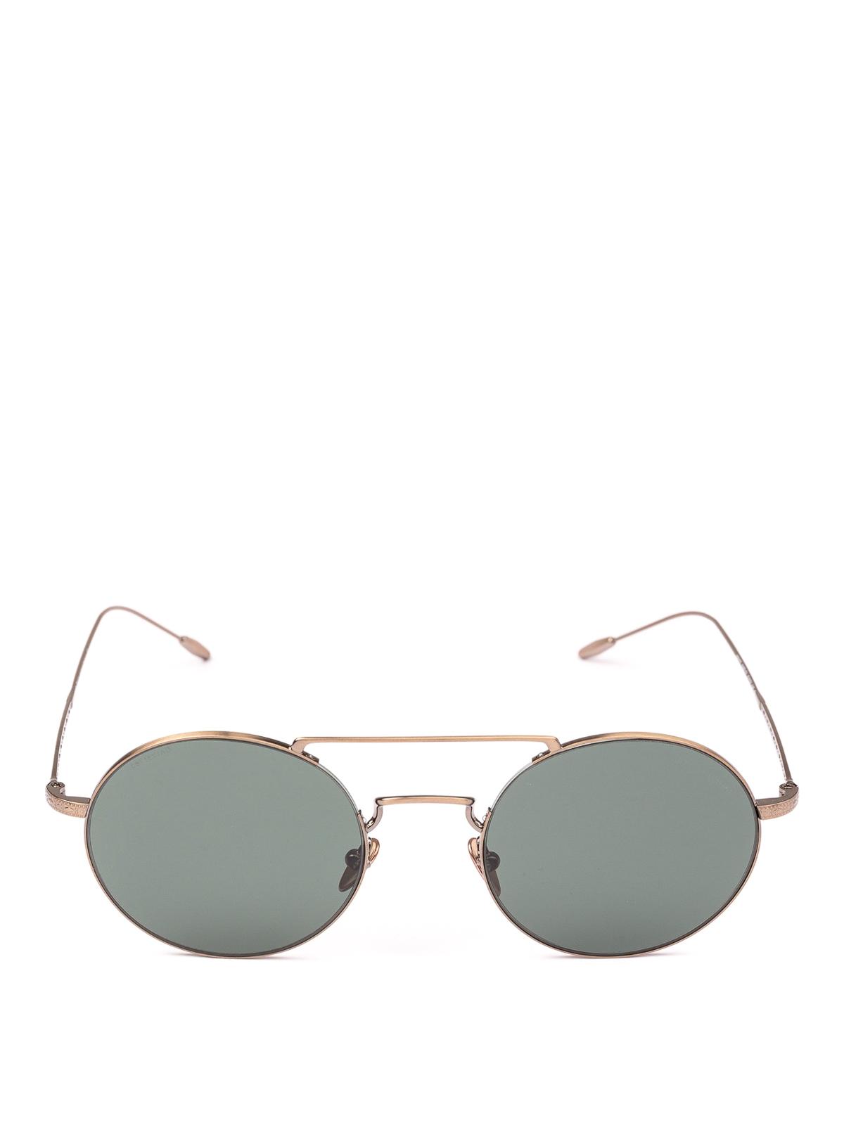 e6be42812a19 GIORGIO ARMANI  sunglasses online - Rose gold metal round sunglasses