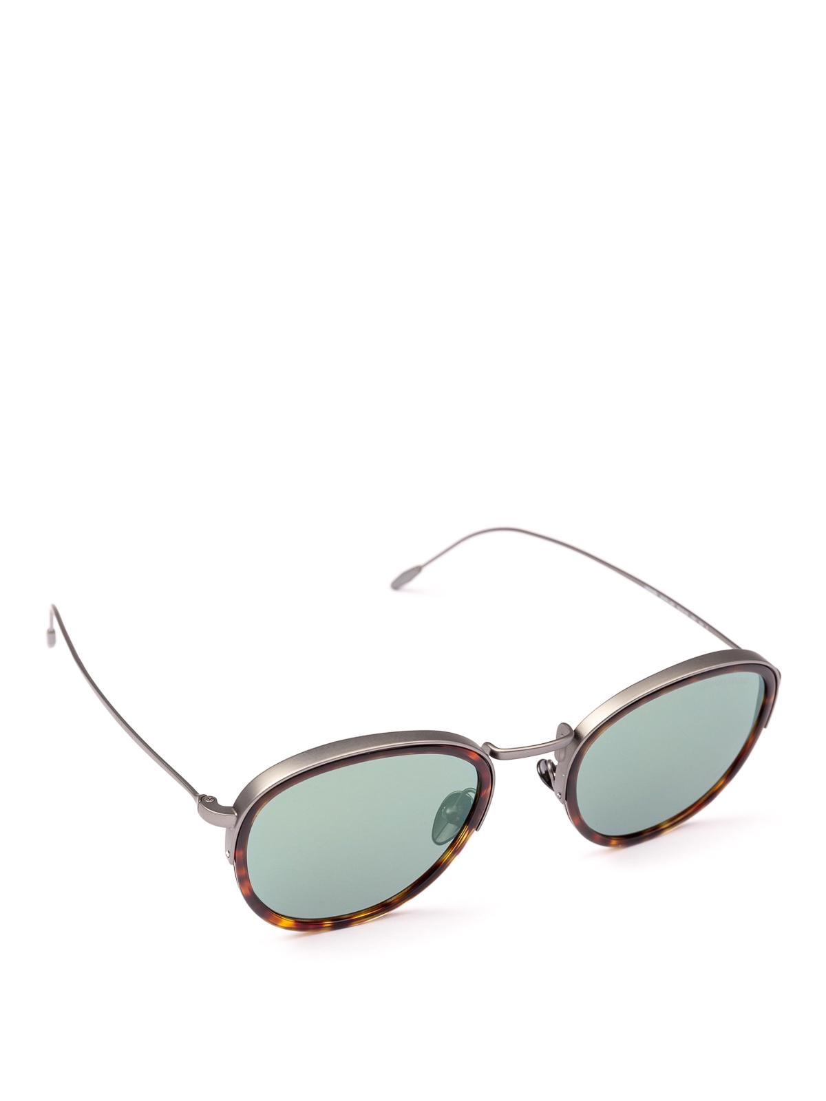 5fdbb5b8cb99 Giorgio Armani - Double frame round sunglasses - sunglasses - AR6068 ...